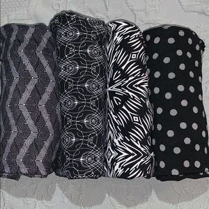 Lot of 4 LuLaRoe One Size Leggings 🖤🖤